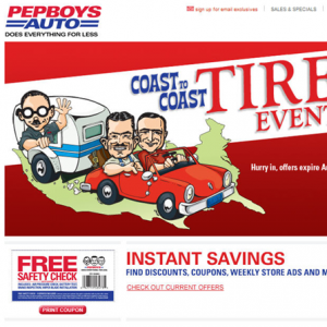 Website Design Company - Pepboys