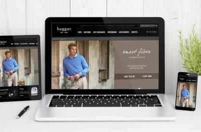 Website Design Company - Haggar