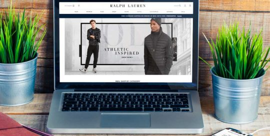 Website Design Company - Ralph Lauren